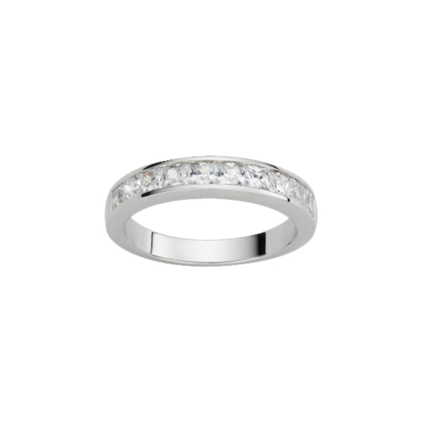 Alliance or blanc et diamants – 21001132 1