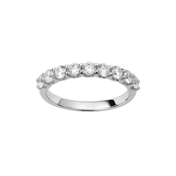 Alliance or blanc et diamants – 21001139 1