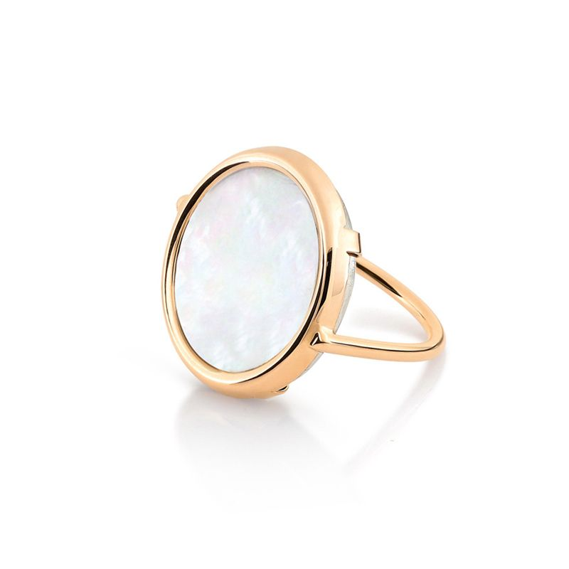 Bague Ginette NY Mother of Pearl Nacre - RDPE