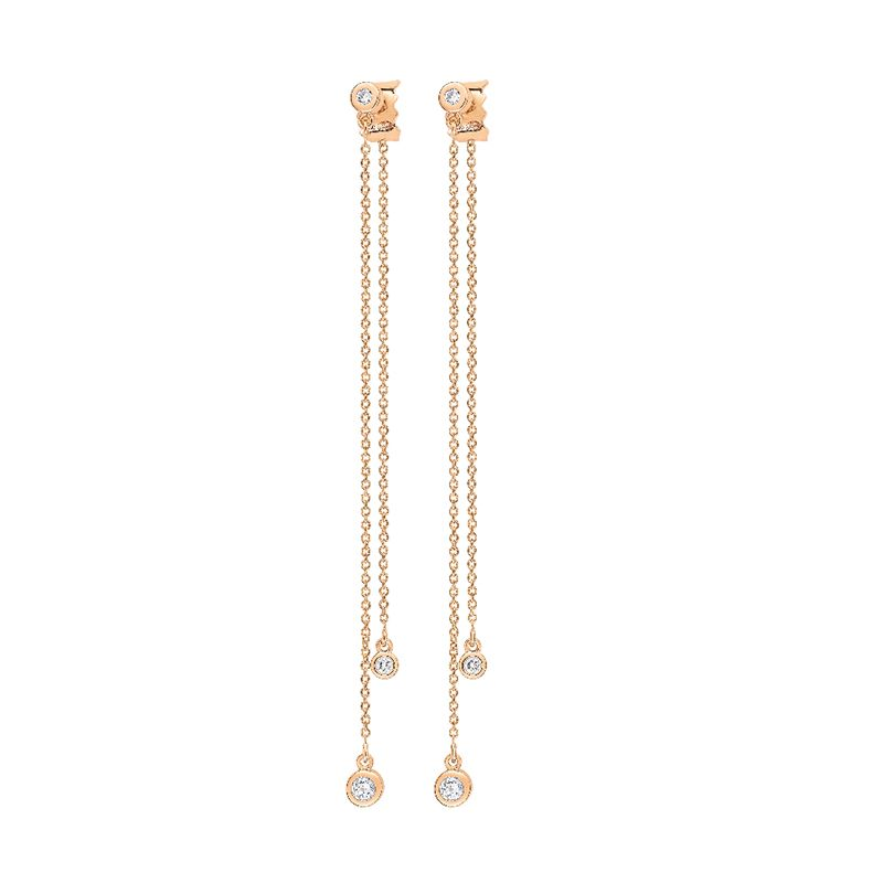 Ginette NY - Boucles d'oreilles Lonely Diamond - BOLD02