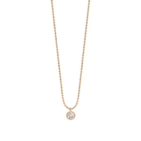 Ginette NY – Collier Lonely Diamond – LD01 1
